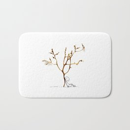 Grape tree Bath Mat