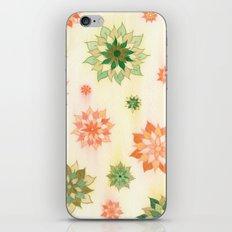 108 - Nastya Flowers iPhone & iPod Skin