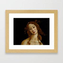 "Sandro Botticelli ""Venus"" (Sabauda Gallery, Turin) Framed Art Print"