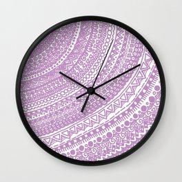 Pink Pulse o2. Wall Clock