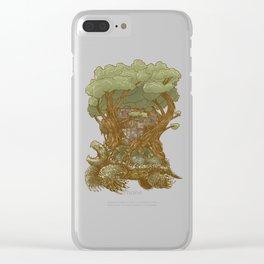 Atlas Reborn Clear iPhone Case