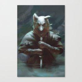 Wolfie Canvas Print
