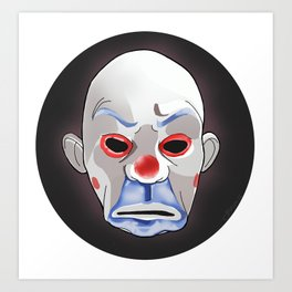 Joker as Thug Art Print
