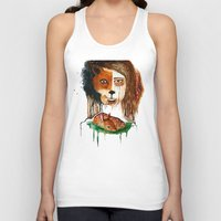 bambi Tank Tops featuring Bambi by maumel