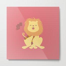 House Pride - Lion 1 Metal Print