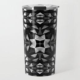 Silver Roses in Starlight Travel Mug