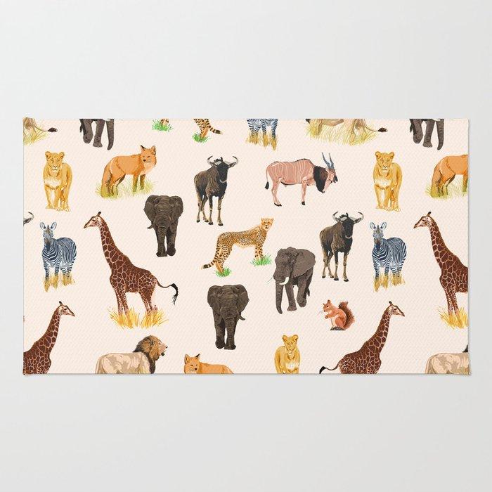 Safari Sightings Rug