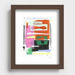 October Air I Recessed Framed Print