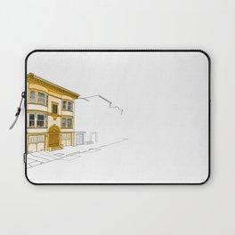 Yellow San Francisco Haus Laptop Sleeve