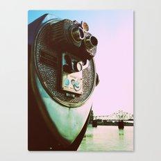 Lookin' through Canvas Print