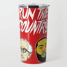 Run The Country Travel Mug