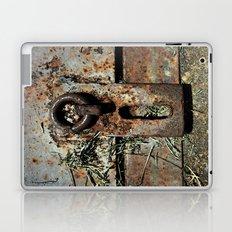 Old Unlocked Lock Laptop & iPad Skin