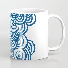Tide pool cluster in Blue Coffee Mug