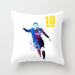 Sports art _ Barcelona Throw Pillow