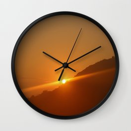 Udaipur Sunrise Wall Clock