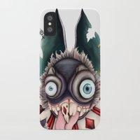 bucky iPhone & iPod Cases featuring Bucky by Maria Gabriela Arevalo Reggeti