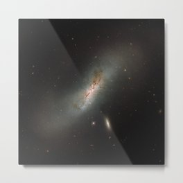 Leda NGC 4424 The Beautiful Universe Metal Print