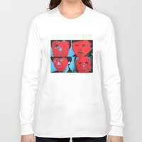 talking heads Long Sleeve T-shirts featuring Talking Heads - Remain in Light by NICEALB