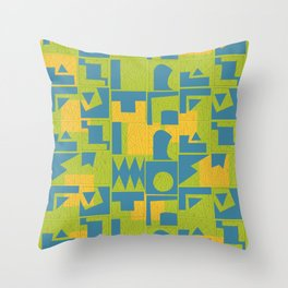 Color Combination #2 Throw Pillow