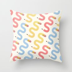 Procrastination  Throw Pillow