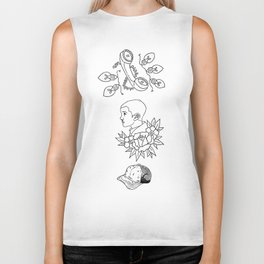 Science Fiction Character Illustration Biker Tank