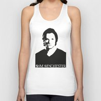 winchester Tank Tops featuring Sam Winchester by TeganFanella