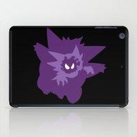 gengar iPad Cases featuring Ghost Evolution by darko888
