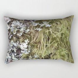 Moss nature design 01 Rectangular Pillow