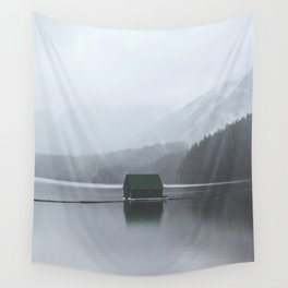 Lone Cabin Wall Tapestry