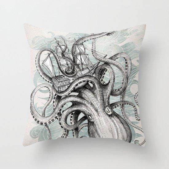 The Baltic Sea Throw Pillow