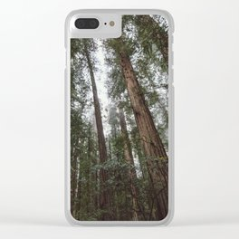 Through the Woods Clear iPhone Case