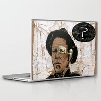 tom selleck Laptop & iPad Skins featuring Tom Waits? by Andy Christofi