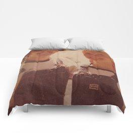 Mom and dad honeymoon Comforters