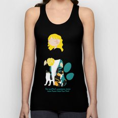 Endo Paw Pals - Commissioned Work Unisex Tank Top