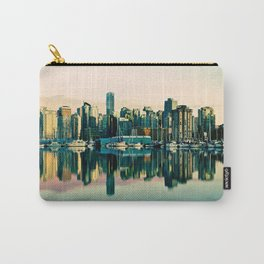 Vancouver Coal Harbor Sunset Cityscape  Carry-All Pouch