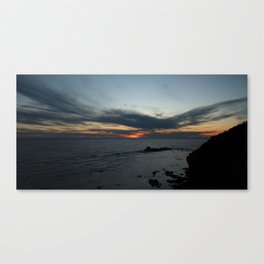 Newfoundland Sunset Canvas Print