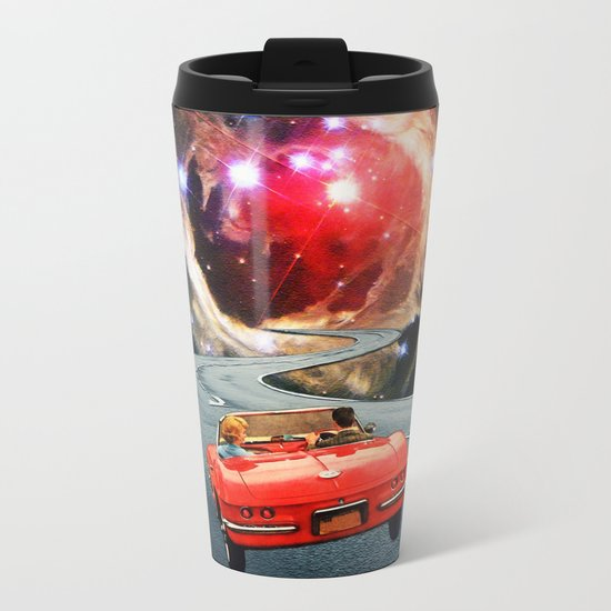 Naive Honeymooners Metal Travel Mug