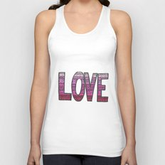 Love Design Unisex Tank Top