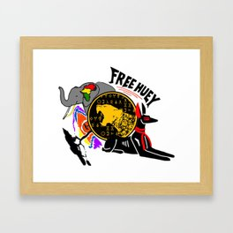 FREE HUEY Framed Art Print