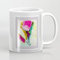 frame Mugs featuring FRAME IN A FRAME by VIAINA