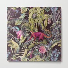 Fantasy in the nocturnal tropical jungle Metal Print