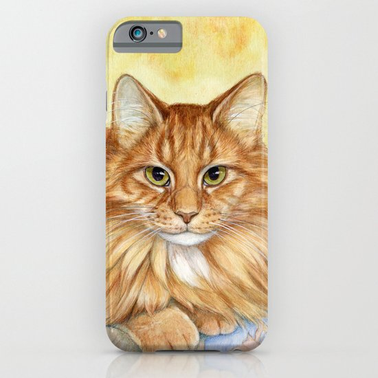 Ginger Cats A085 iPhone & iPod Case