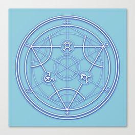 Transmutation Circle Canvas Print