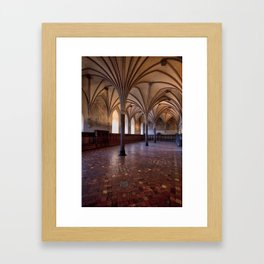 Malbork Castle Framed Art Print