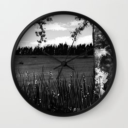 Country Field Wall Clock