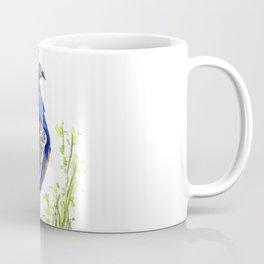 Peacock on Planter Coffee Mug
