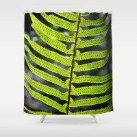 fern Shower Curtains featuring Fern by Kirby Kilpatrick