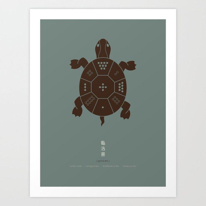 Lo Shu Turtle Art Print