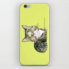 Green-eyed Cat iPhone & iPod Skin
