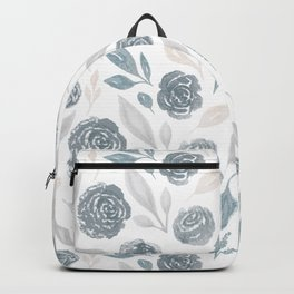 Watercolor Rose Garden Backpack